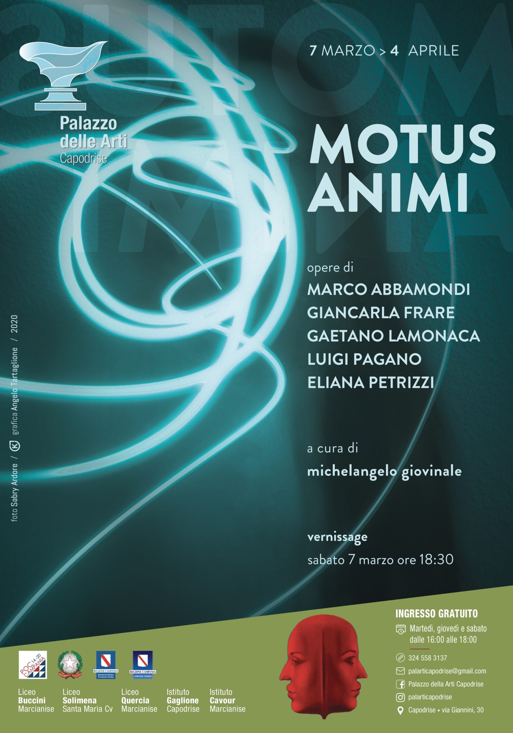 Mutus animi  opere dI Marco Abbamondi, Giancarla Frare, Gaetano Lomonaca, Luigi Pagano, Eliana Petrizzi