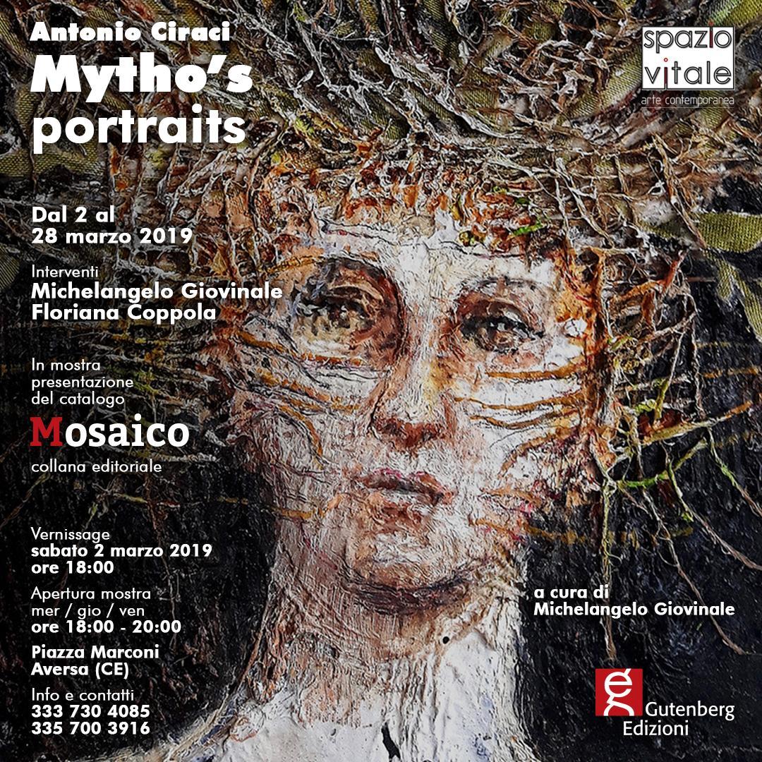 Mytho's portraits  opere di Antonio Ciraci