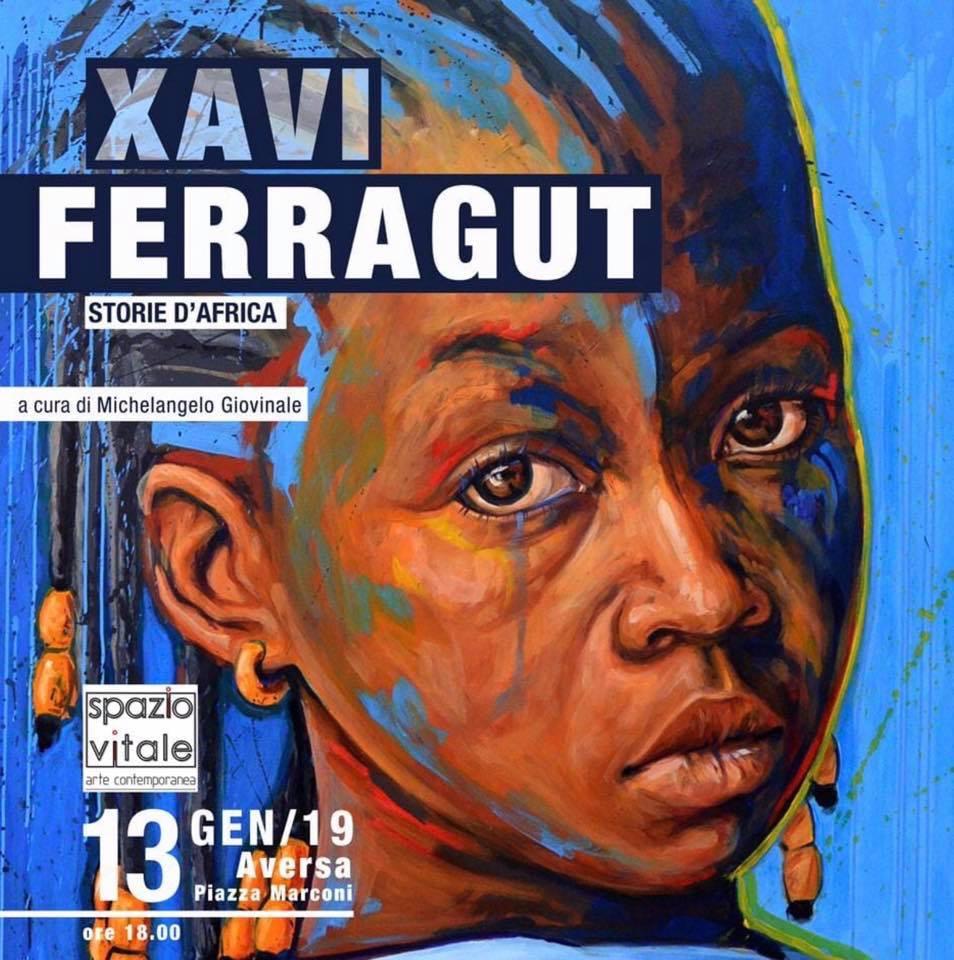 Storie d'Africa  opere di Xavi Ferragut