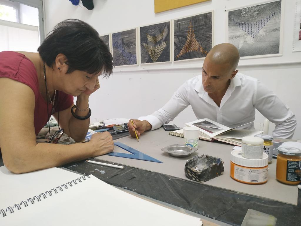 Anna Crescenzi  Studio visit