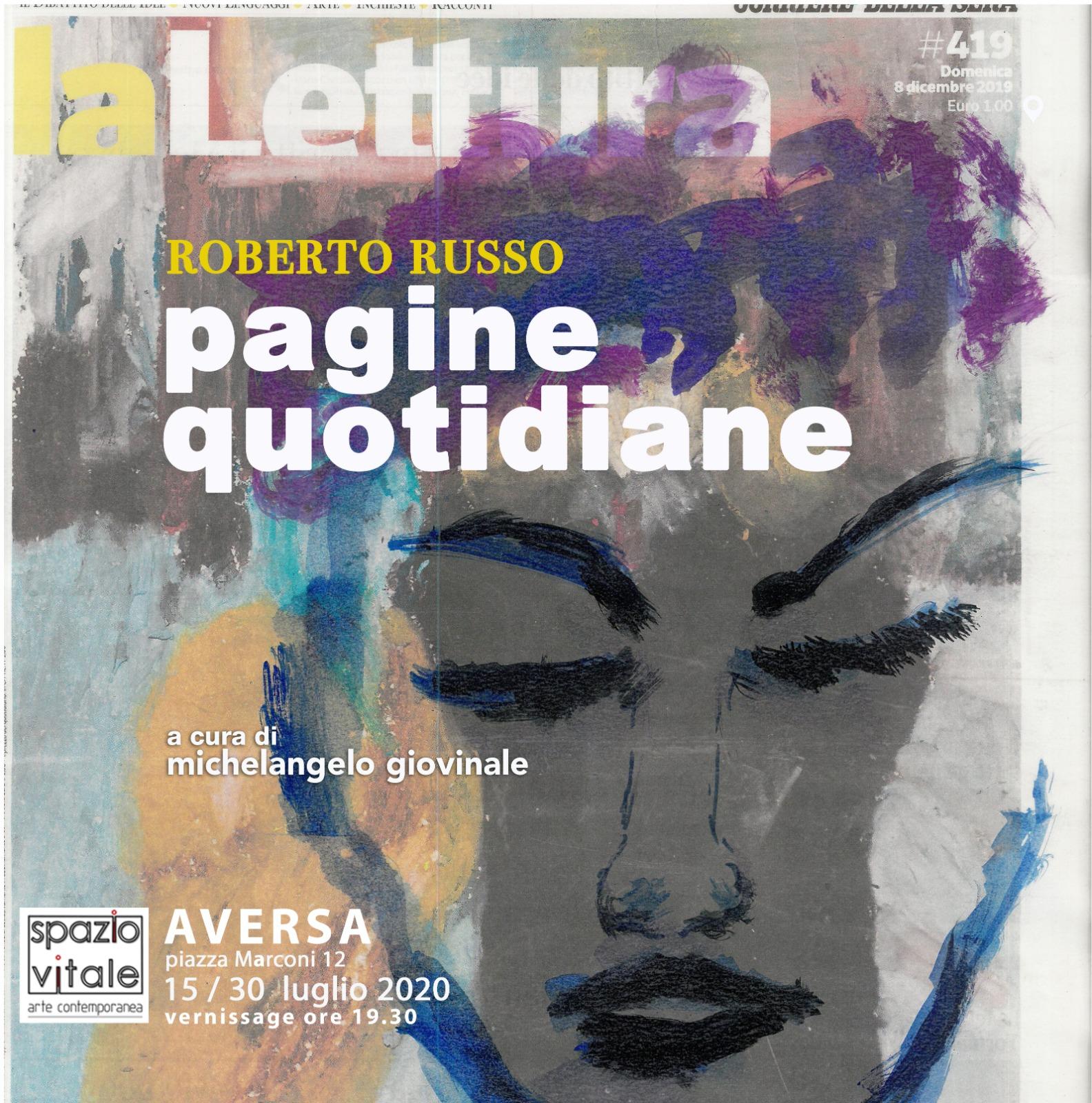Pagine quotidiane  opere di Roberto Russo