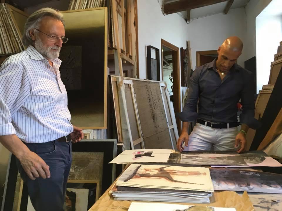 Raffaele Boemio  Studio visit