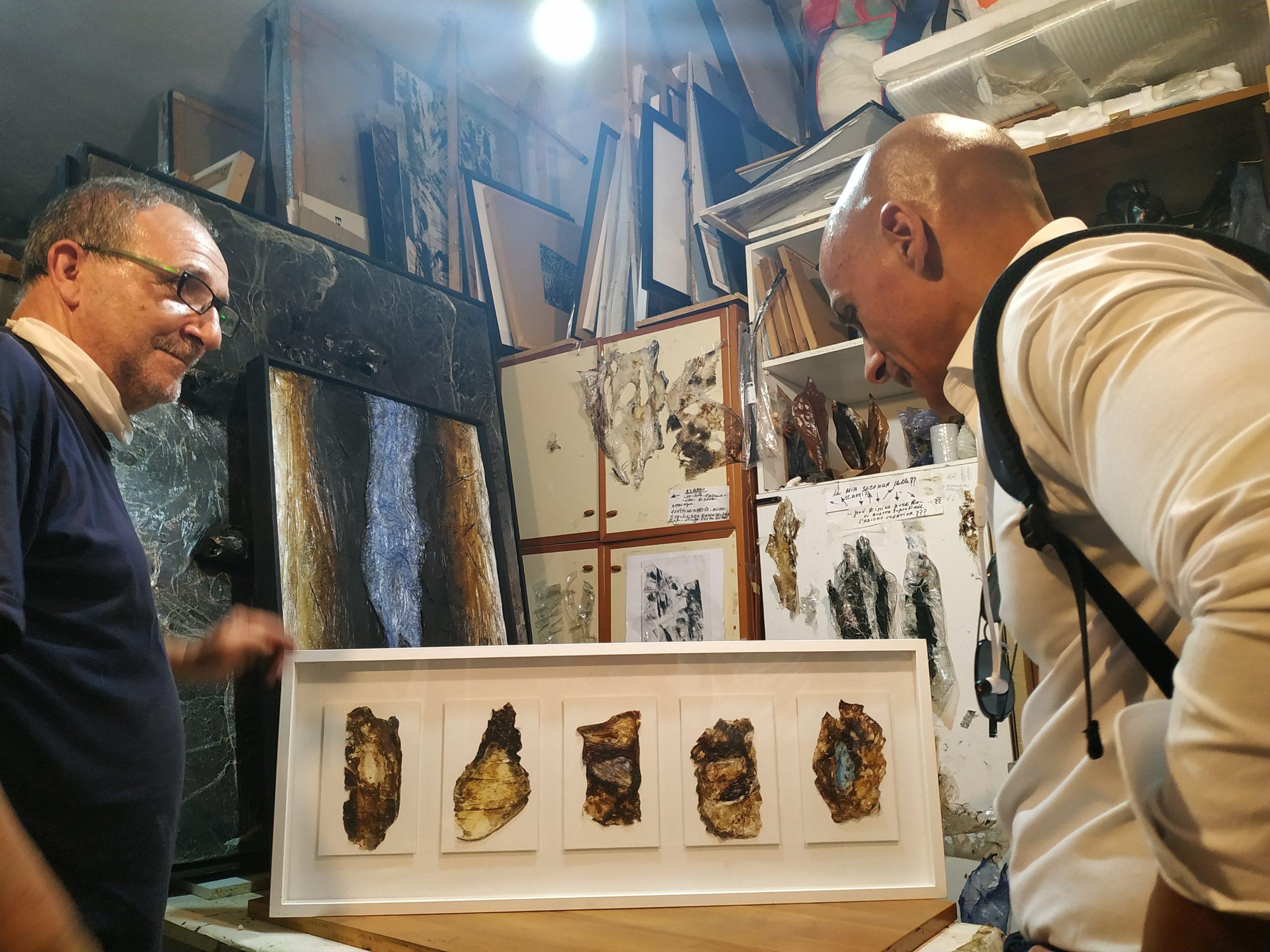 Giovanni Cuofano  Studio visit